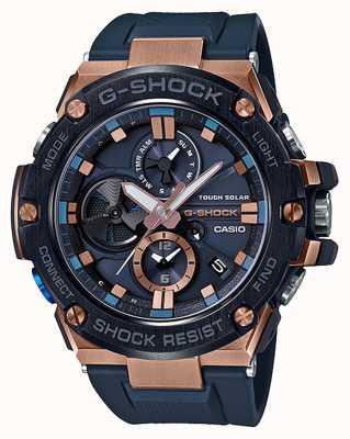 Casio El | g-shock | g-steel | bluetooth | cronógrafo | azul | GST-B100G-2AER