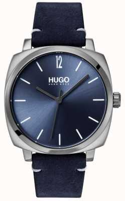 HUGO #own | correa de cuero azul | esfera azul 1530069