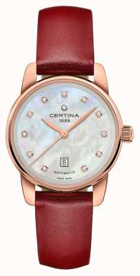 Certina El | ds podium | dama automática | diamante de madreperla | C0010073611602