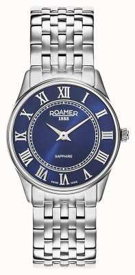 Roamer El | mujeres | sonata | pulsera de acero inoxidable | esfera azul | 520820-41-45-50