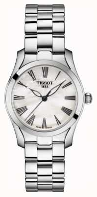 Tissot | t-wave | pulsera de acero inoxidable para mujer | madre perla T1122101111300