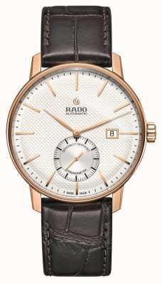 Rado El | coupole classic | automático | correa de cuero marrón | R22881025