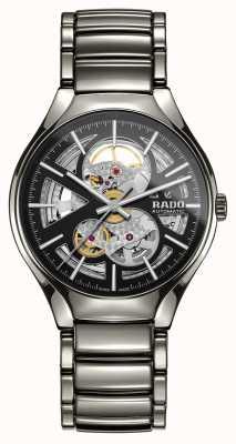 Rado Verdadero reloj automático de cerámica de alta tecnología con corazón abierto de plasma R27510152