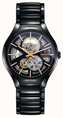 Rado Verdadero reloj automático de cerámica de alta tecnología con corazón abierto de plasma R27100162