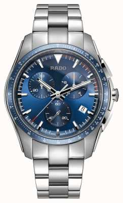 Rado | xxl cronógrafo hipercromo | acero inoxidable | esfera azul | R32259203