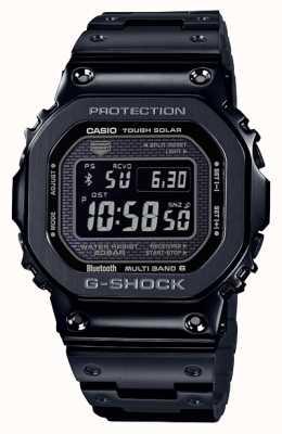 Casio El | g-shock full metal | solar resistente | dial digital | negro GMW-B5000GD-1ER