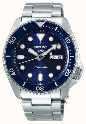 Seiko 5 deporte | deportes | automático | esfera azul | acero inoxidable SRPD51K1
