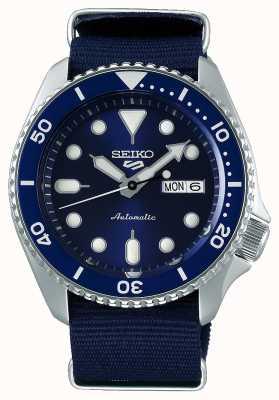 Seiko 5 deporte | deportes | automático | esfera azul | otan azul SRPD51K2
