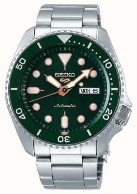 Seiko 5 deporte | deportes | automático | esfera verde | acero inoxidable SRPD63K1