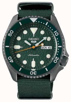 Seiko 5 deporte | sentido | automático | esfera verde | nato verde SRPD77K1