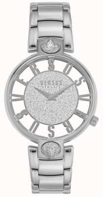 Versus Versace El | kirstenhof de mujeres | pulsera de acero plateado | esfera brillante VSP491319