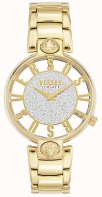 Versus Versace El | kirstenhof de mujeres | pulsera chapada en oro | esfera brillante VSP491419