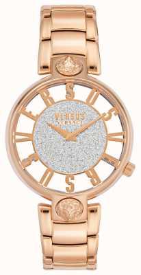 Versus Versace El | kirstenhof de mujeres | pulsera de oro rosa | esfera brillante | VSP491519