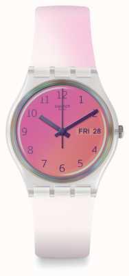 Swatch El | caballero original | reloj ultrafushia | GE719