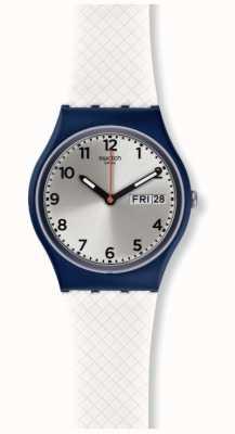 Swatch El | caballero original | reloj blanco delicia | GN720