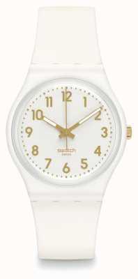 Swatch El | caballero original | reloj obispo blanco | GW164