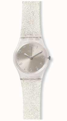 Swatch El | dama original | glistar plata también reloj | LK343E