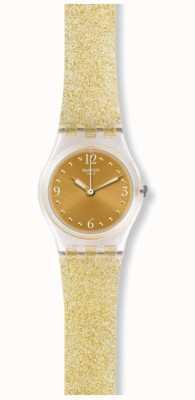 Swatch El | dama original | Golden Glistar también ver | LK382