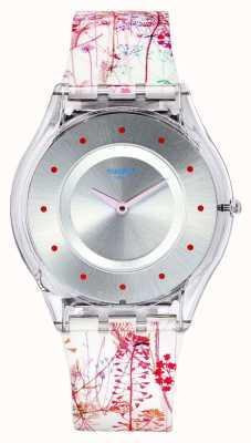 Swatch El | piel clásica | reloj jardin fleuri | SFE102
