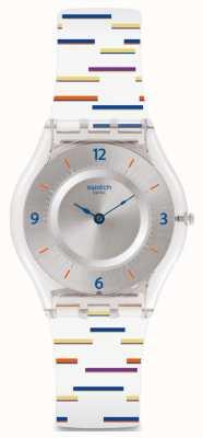 Swatch El | piel clásica | reloj de línea delgada | SFE108
