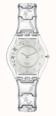Swatch El | piel clásica | reloj florido escalador | SFK300G