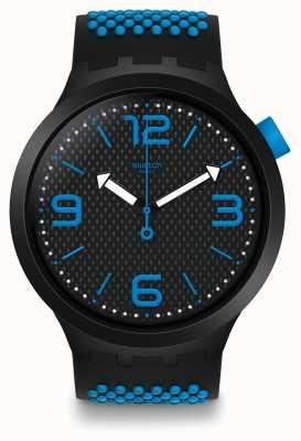 Swatch El | gran negrita | reloj bbblue | SO27B101