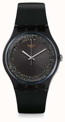 Swatch El | nuevo caballero | reloj darksparkles | SUOB156