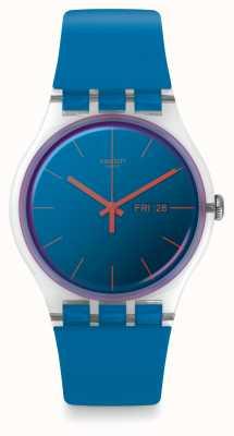 Swatch El | nuevo caballero | reloj polablue | SUOK711