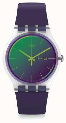 Swatch El | nuevo caballero | reloj polapurple | SUOK712
