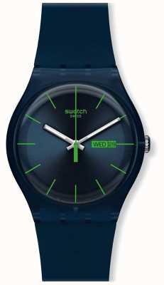Swatch El | nuevo caballero | reloj rebelde azul | SUON700