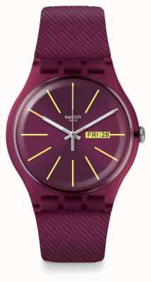 Swatch El | nuevo caballero | reloj de bodega | SUOR709