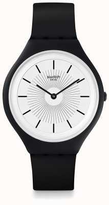 Swatch El | piel grande | reloj skinnoir | SVUB100