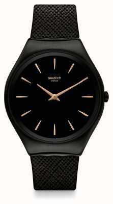 Swatch El | ironía de la piel | reloj de piel notte | SYXB101