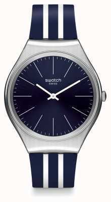 Swatch El | ironía de la piel | reloj skinblueiron | SYXS106