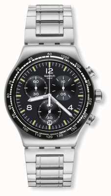 Swatch El | nueva ironía crono | reloj de vuelo nocturno | YVS444G