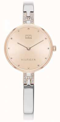 Tommy Hilfiger Kit | pulsera de acero inoxidable | esfera de oro rosa | 1782138
