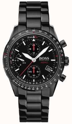 BOSS El | aero | cronógrafo negro | reloj pulsera negra | 1513771