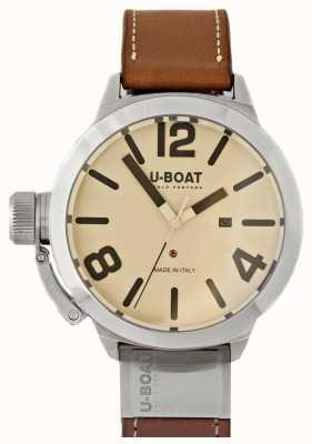 U-Boat Classico 50 tungsteno como 2 esfera crema 8091