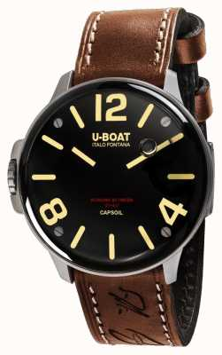 U-Boat Capsoil ss electromecánica cuero marrón 8110/A
