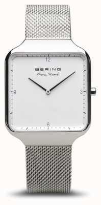 Bering El | max rené | plata pulida | pulsera de malla de plata | 15836-004
