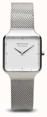 Bering El | max rené | plata pulida para mujer | pulsera de malla de acero | 15832-004