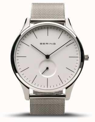 Bering El | clásico | plata pulida para hombres | pulsera de malla de acero | 16641-004