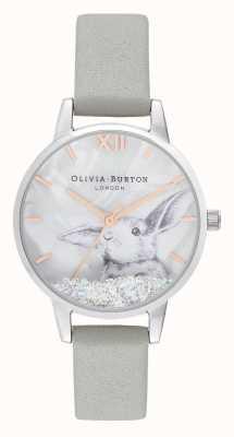 Olivia Burton El | mujeres | país de las maravillas de invierno | bola de nieve conejito de cristal | OB16WL86