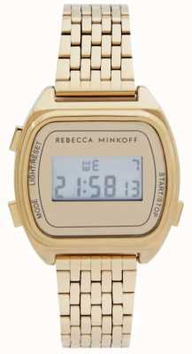 Rebecca Minkoff El | mujeres | digital | acero inoxidable chapado en oro 2200377