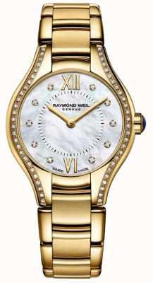 Raymond Weil El | mujeres | noemia | diamante | pulsera de pvd de oro 5124-PS-00985