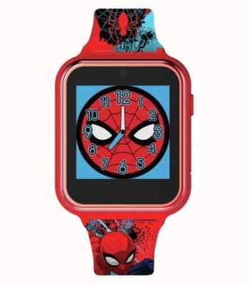 Avengers Reloj inteligente   caja de plástico rojo   correa de silicona impresa   SPD4588