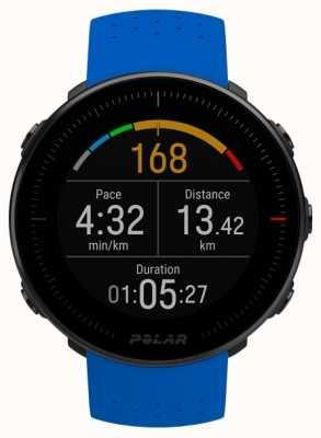 Polar El | ventaja m | monitor de frecuencia cardíaca | correa de goma azul 90080197