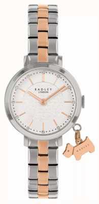 Radley Calle Selby | pulsera de acero bicolor | esfera blanca RY4397