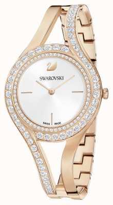 Swarovski El | eterno | pulsera de acero en oro rosa | conjunto de cristal | blanco 5377576