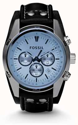 Fossil Reloj cronógrafo azul para hombre CH2564